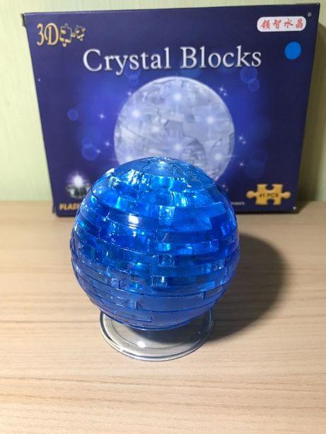 3D puzzle / Crystal Puzzle для детей / 3D пазл