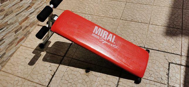 Aparelho de ginástica para abdominais, marca Miral 190 Sports