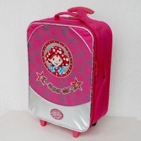 Super walizka podróżna dla małej księżniczki