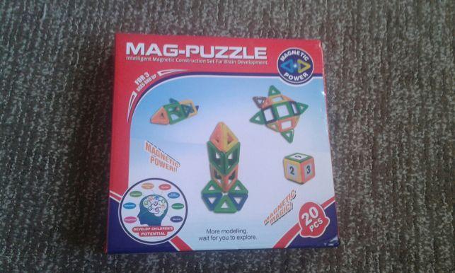 Магнитный конструктор Mag pazzle Оригинал!