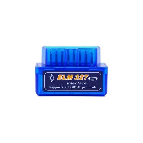 Диагностический сканер-адаптер elm327 v1.5 bluetooth 2.0 ЕЛМ две платы