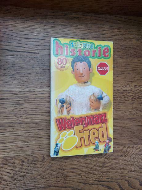 Weterynarz Fred - Zabawne historie - Kaseta VHS. Wysyłka