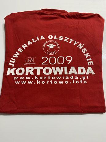 Koszulka Tshirt T-shirt Kortowiada 2009 Uwm Olsztyn