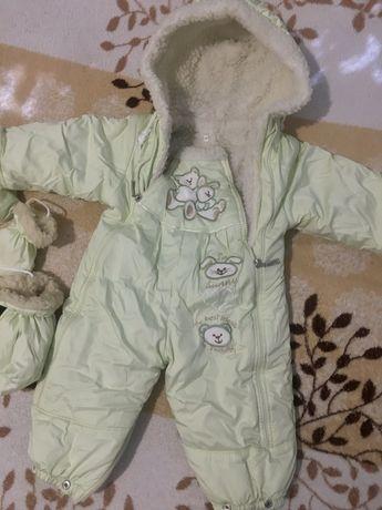 Зимовий комбінезон для новонарождених (комбинезон для новорожденых)