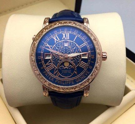разные цвета Мужские часы Новые Patek Philippe Sky Moon
