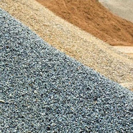 Песок, грунт, чернозем, дробленый бетон
