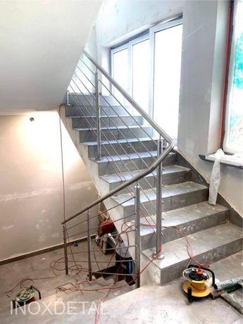 BALUSTRADA BARIERKA TARASOWA balkonowa gwarancja schody schodowa