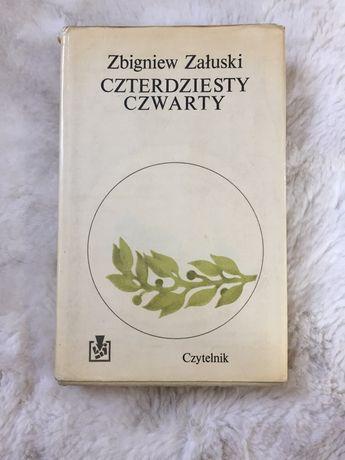 """Książka """"Czterdziesty czwarty"""" Z. Załuski"""