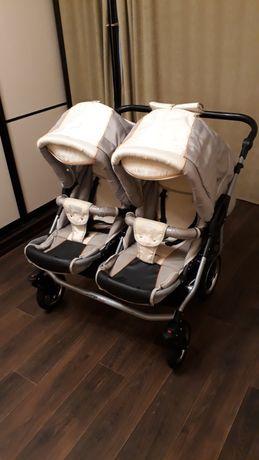 Хорошая коляска для двойни, близнецов, погодок tako jumper duo 2 в 1