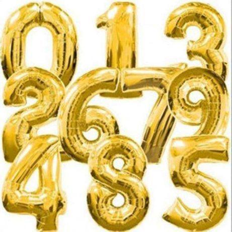 Цифра на день рождения 1м.(цифра шар, фольгированные шары, декор, фото