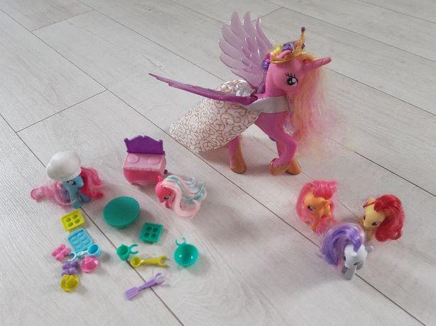 Interaktywna księżniczka Cadence, czas na pieczenie, pony zestaw