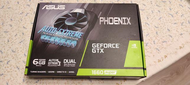 ASUS NVIDIA GEFORSE GTX 1660 super Phoenix 6GB