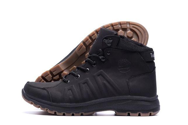 Мужские зимние ботинки Timberland, Levis из натуральной кожи