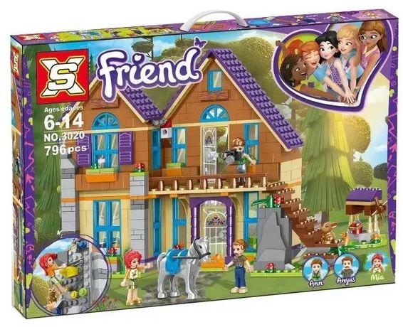 Klocki XS Friends Dom Mii 796 elem. jak Lego z Polski
