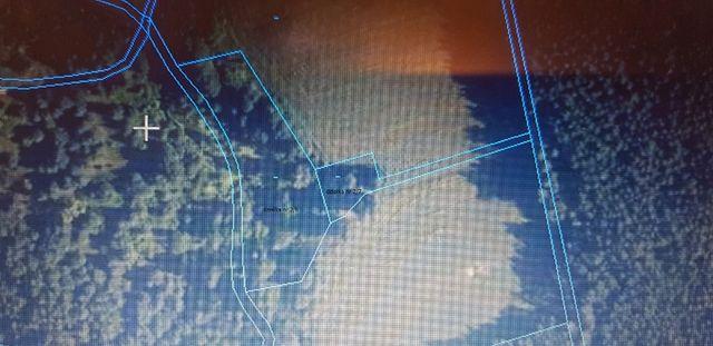 Działka rekreacyjna siedlisko 70 arów w lesie graniczy z rzeką