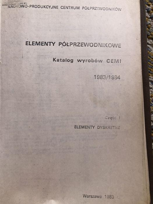 Książka - elementy półprzewodnikowe Namysłów - image 1