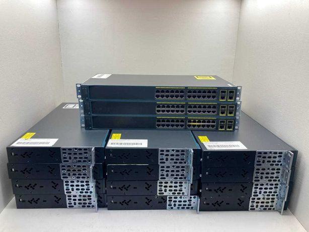 Коммутатор (Свитч) Cisco WS-C2960-24TC-L  ОПТ+ количество