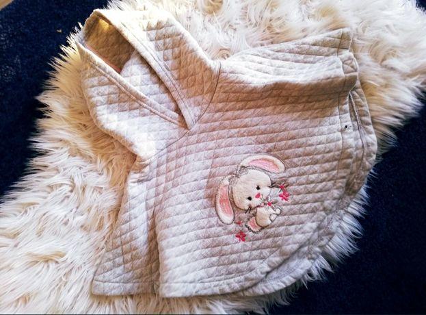 Ergee pelerynka ponczo bluza króliczek narzuta