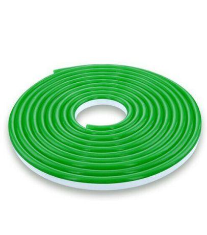 Светодиодная лента NEON 220В 2835-120 G IP65 зеленый, герметичная