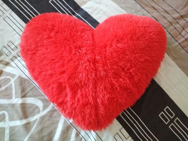Декоративная подушка сердечко сердце любимой