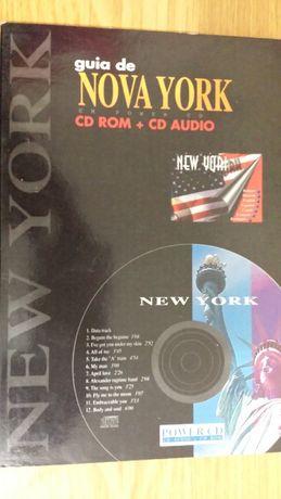 CD Rom + cd audio guia de Nova York