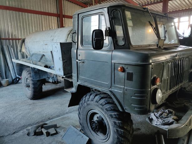 Автоцистерна водовоз ГАЗ 66 1999