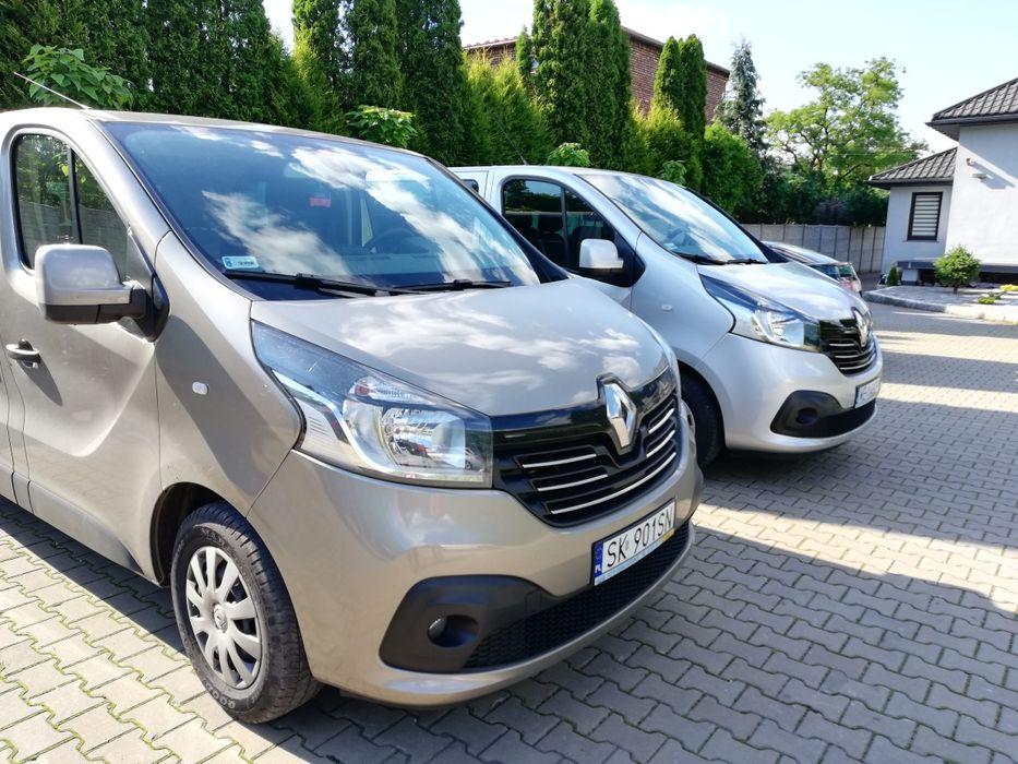 Wypożyczalnia busów 9 os. Wynajem samochodów BUS 9 os. Renault Trafic Katowice - image 1