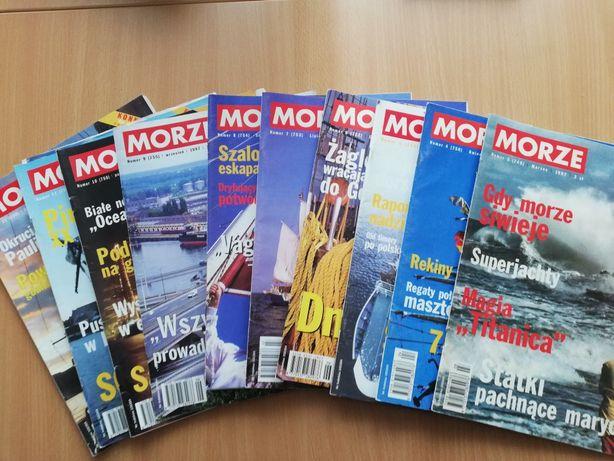 Magazyn Morze 1997, 1998, 1999