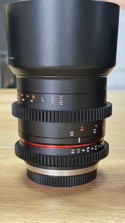 Obiektye samyang 50mm MFT fv23%