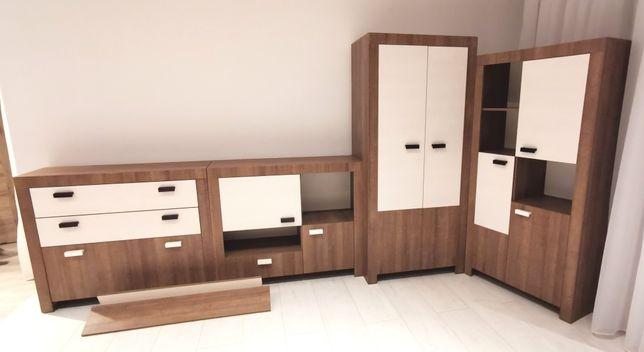 Meble dla dziecka, szafa, komoda, szuflady, półka. Kpl 5 elem.