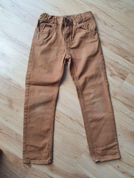 Spodnie H&M brązowe dla chłopca roz. 122