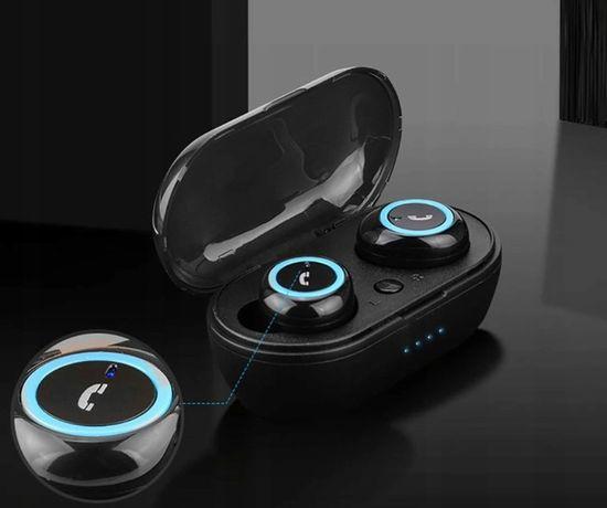 Słuchawki Bluetooth B5 Power bank na alledrogo za 114