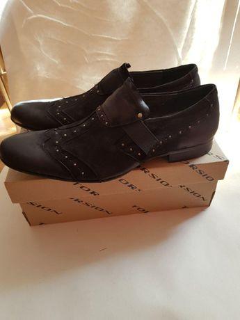 Взуття для справжніх чоловіків: дизайнерські туфлі, ТМ CAMTOP, р.42