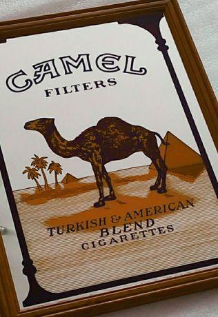 Рекламное оборудование вывеска Camel не лайтбокс неон Marlboro Winston