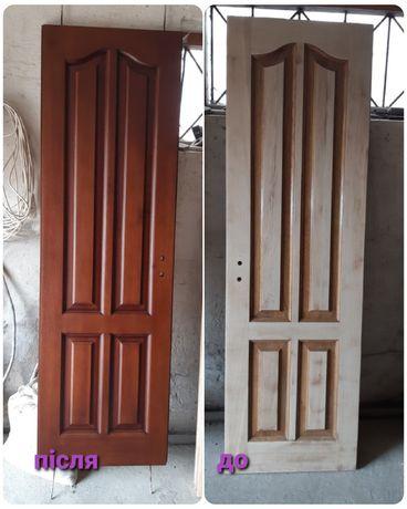 Двері реставрація