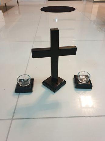 zestaw kolędowy komplet krzyż wizyta duszpasterska czarny dąb