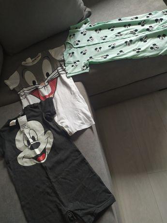 Piżamki H&m Disney rozmiar 104