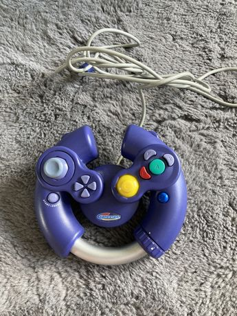 Kontroler Gamecube regulowany kierownica