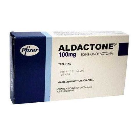 Ofereço Aldactone Espironolactona selada 60 comp