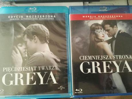 Pięćdziesiąt Twarzy Greya + Ciemniejsza strona Blu Ray