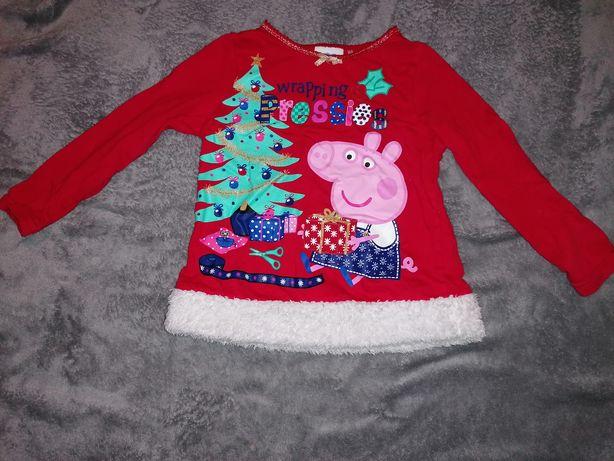 Bluzka świąteczna z pepą