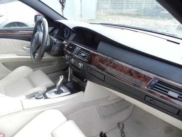 BMW E60 E61 lift lci deska Kokpit konsola airbag bezowa beige