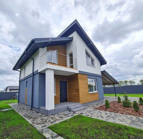 Продажа современного дома 100м2 в Крюковщине, участок 5 соток