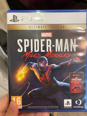 Spider-Man Miles Morales для PS5