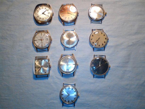 часы мужские наручные золотые браслет, позолоченные, механизмы СССР