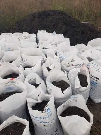 Чернозем мешками, 40 кг, большие мешки