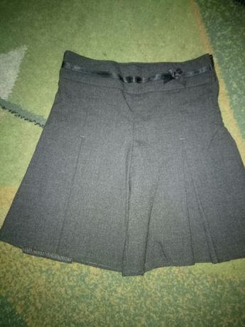 Школьная юбка-шорты первоклашке