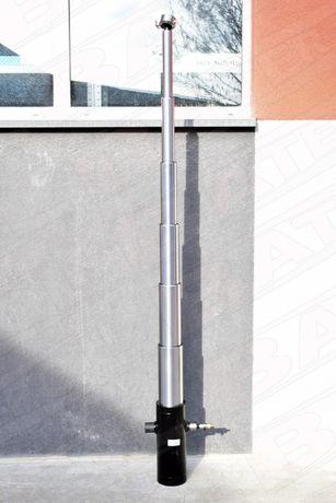 Siłownik teleskopowy przyczepy, ST6-1725, wysów -1725mm wywrotki niski