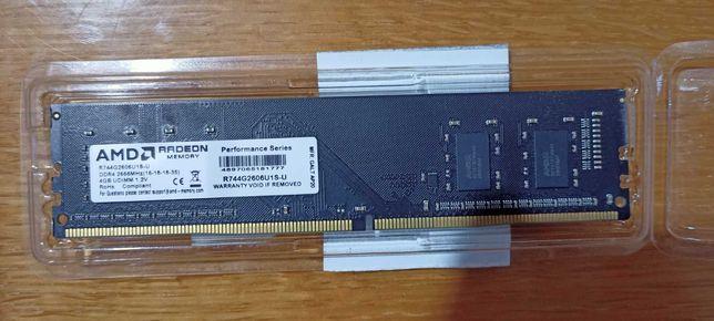Оперативная память AMD DDR4-2666 4GB