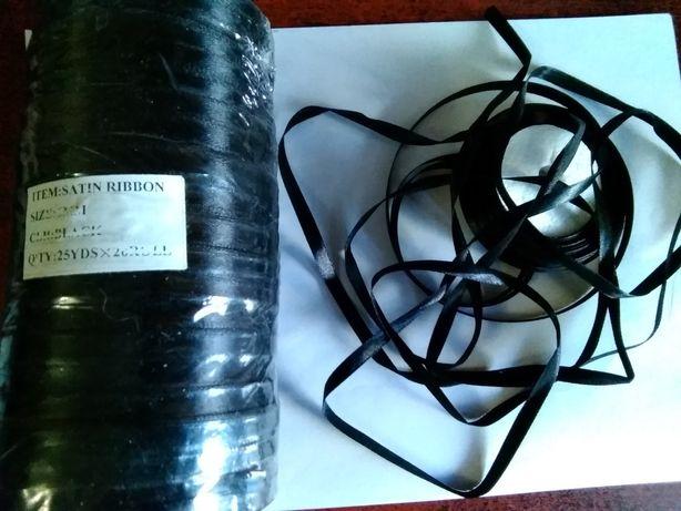 Чёрная лента для рукоделия